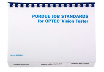 2000220 Purdue Job Book (5 Pads of Recording Forms)